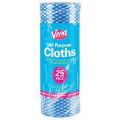 Multi Purpose Cloth Roll 25 Pack