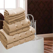 Luxurious Egyptian Natural 8 Piece Towel Bale