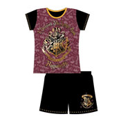 Older Girls Harry Potter Hogwarts Shortie Pyjamas