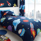 Outer Space Rotary Duvet Set