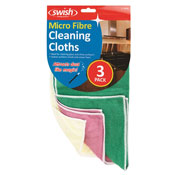 Micro Fibre Cleaning Cloth 3 Pack