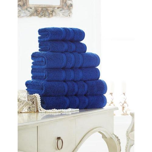 Supreme Cotton Bath Towels Electric Blue