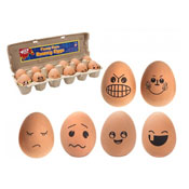 Funny Face High Bounce Eggs