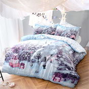 Christmas Unicorn Duvet Set
