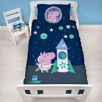 Official George Pig Boom Junior Duvet Set