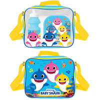 Official Baby Shark Lunch Bag Set 3 Piece