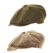 Mens 8 Panel Hawkins Cap