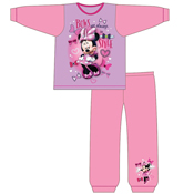 Girls Snuggle Fit Minnie Mouse Pyjamas
