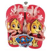 Girls Paw Patrol Flip Flops