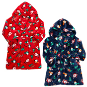 Infant Christmas Printed Dressing Gown