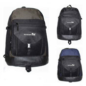 Outdoor Backpack With Large Zip Pockets