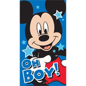 Mickey Mouse Oh Boy Beach Towels