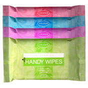 Handy Cleansing Wipes 4 Pack