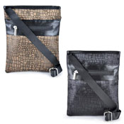 Ladies Animal Jacquard Messenger Bag