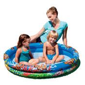 Inflatable Paddling Pool Clown Fish Print