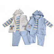 Baby Boy 'Baby Jungle' Tshirt, Jacket and Trousers Set