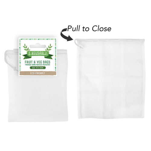 Reusable Fruit And Veg Bags 2 Pack