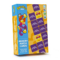 Cbeebies Memory Match Puzzle