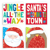 Traditional Christmas Cards Novelty