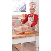 Cooksmart Kids Gingerbread 3 Piece Chef Set