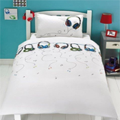 Childrens Fun Filled Bedding - Headphones