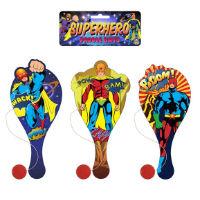Super Hero Paddle Bat And Ball