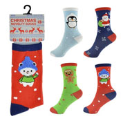 Kids Christmas Novelty Socks