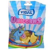 Unicorn Fruit Sweets 100g Bag