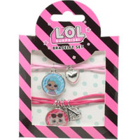 Official LOL Surprise 2 Piece Bracelet Set