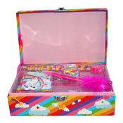 Rainbow Unicorn Stationery Box Set