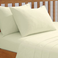 68 Pick Fitted Sheet Ivory