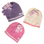 Girls Hat & Glove set
