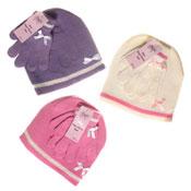 Girls Hat & Glove set