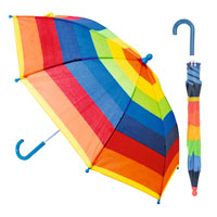 Kids Rainbow Striped Umbrella