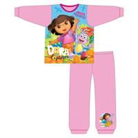Official Girls Toddler Dora The Explorer Pyjamas