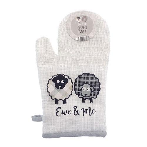 Ewe & Me Gauntlet Oven Glove
