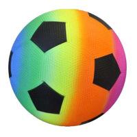 Deflated Rainbow Football 23cm