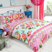 Made With Love Sanaa Pink Duvet Set