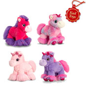Glitter Gems Unicorn Cuddly Soft Toy