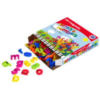 104 Piece Magnetic Letters And Numbers In Box