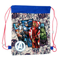 Official Marvel Avengers Pull String Bag