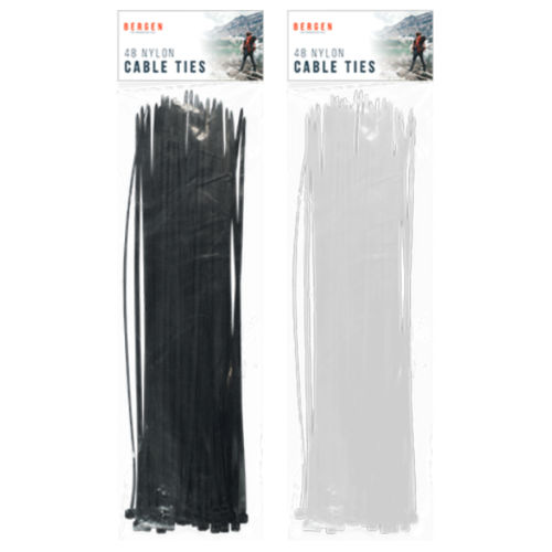 Outdoor Cable Ties 48 Pack
