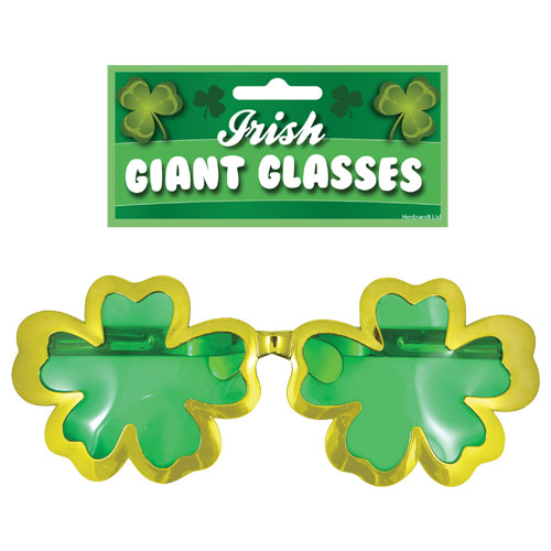 St Patrick's Day Giant Irish Glasses