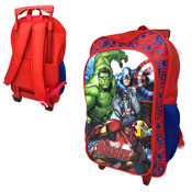 Official Marvel Avengers Deluxe Trolley Backpack