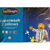 Silentnight Superwash Pillows 2 Pack