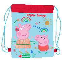 Official Peppa Pig Pullstring Swim / Sports Bag