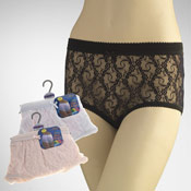 Ladies Lace Mama Briefs