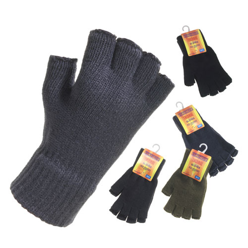 Mens Handy Gloves Fingerless