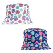 Ladies Cheese Plant Print Bush Hat
