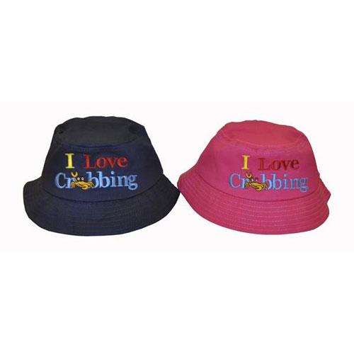 Childrens Bush Hat I Love Crabbing
